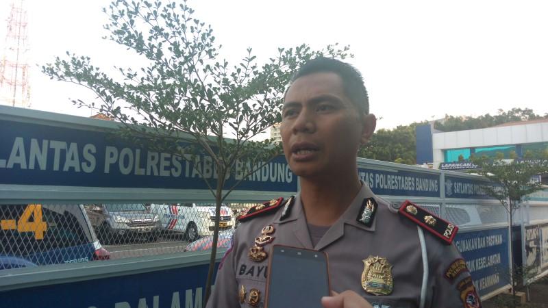 Kasat Lantas Polrestabes Bandung, Kompol Bayu Catur Prabowo (Foto: Prasetyo)