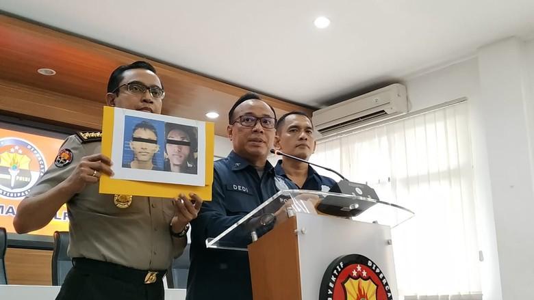 Konferensi pers bom di Polrestabes Medan di Mabes Polri (Foto: detikcom)