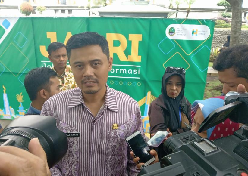 Kepala Bidang Pengadaan dan Mutasi BKD Jawa Barat, Tulus Arifan (Foto: Ardian Resco)