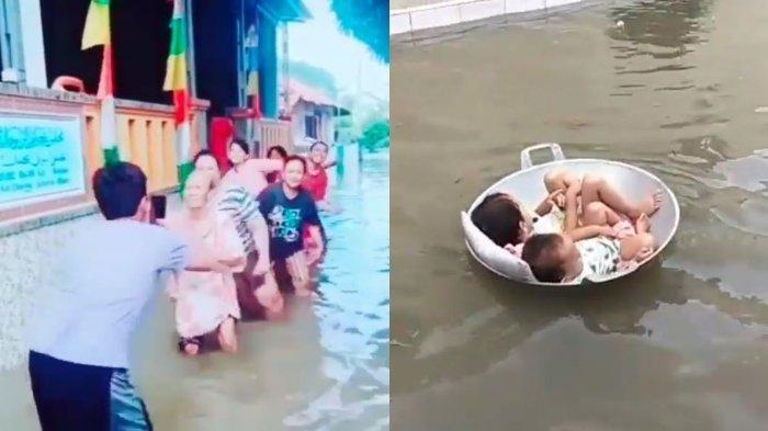 Bikin Ngakak Ini Kata Kata Lucu Dan Tiktok Seru Di Tengah Banjir Dara Co Id
