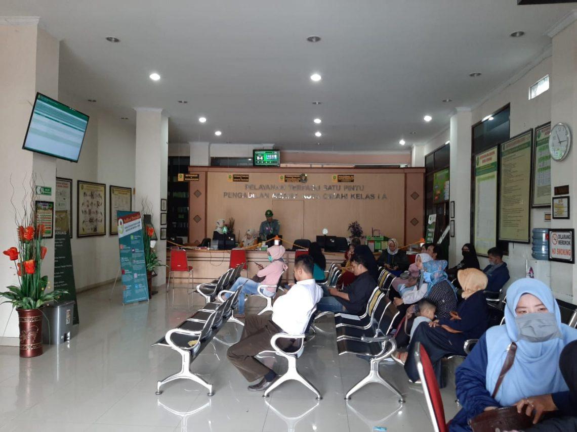 Situasi di Pengadilan Agama Cimahi (Foto: Prasetyo/dara.co.id)