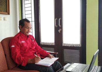 Ketua Dewan Perwakilan Cabang (DPC) PDI Perjuangan Kabupaten Bandung, Harjoko Sangganagara (Foto: Verawati/dara.co.id)