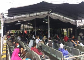 Ilustrasi Situasi Stasiun Kereta Api Bandung (Foto: Istimewa)