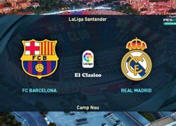 Big Match La Liga yang mempertemukan Barcelona  dengan Rea Madrid akan tersaji di pada pekan kesepuluh, Minggu (24/10/2021), pukul 21.15 WIB.(Foto: You Tube)
